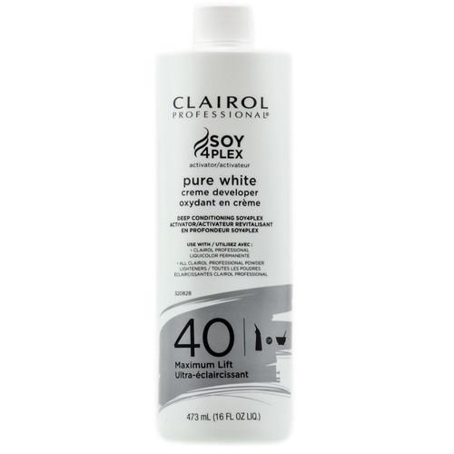 Clairol Pure White 40 vol cream developer