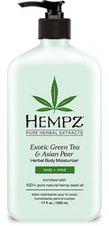 Hempz Exotic Green Tea and Asian Pear Herbal Body Moisturizer