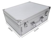Silver Tattoo Kit Case