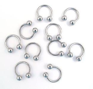 Horsehoe Piercing Jewellery