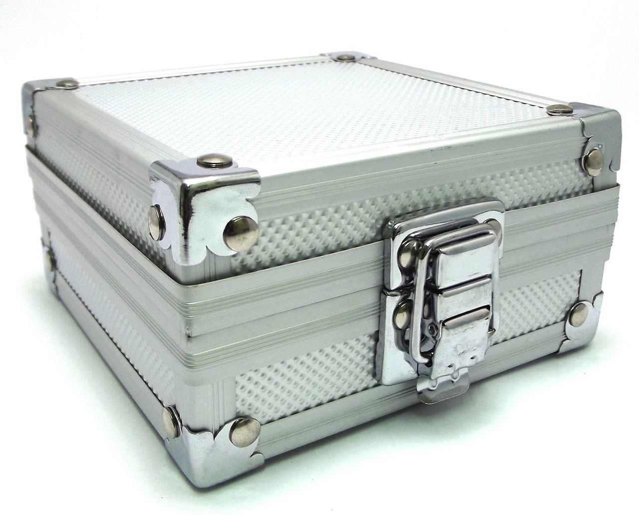 Aluminium padded tattoo machine case box for 1 machine for Tattoo machine case