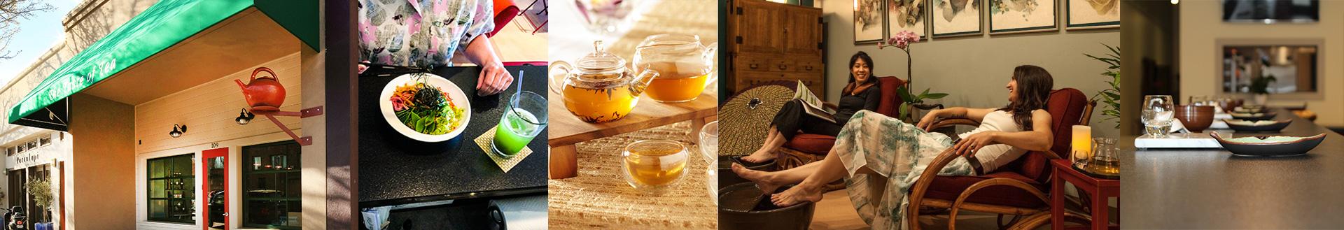 Spa, Food & Tea Bar