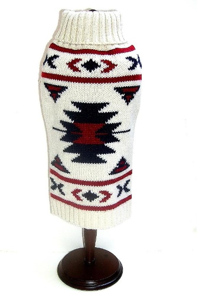 Dallas Dogs Aztec Dog Sweater