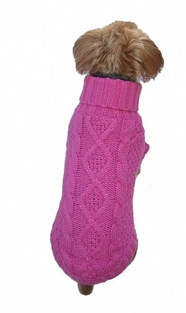 Irish Knit Bubblegum Pink (darker)