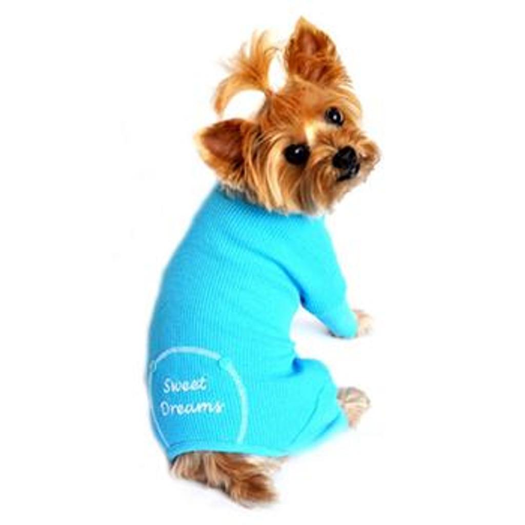 Blue Sweet Dreams Thermal Pajamas