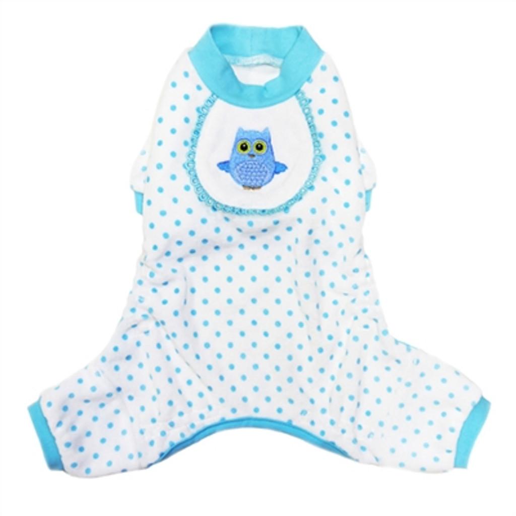 Owl Pajama in Blue