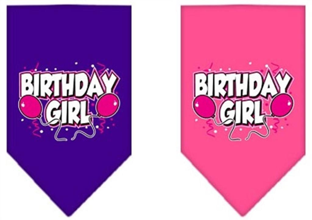 Birthday Girl Screen Print Bandana