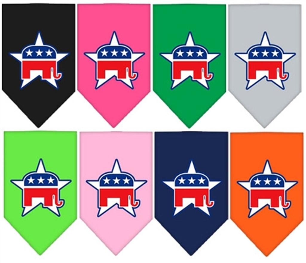 Republican Screen Print Bandana