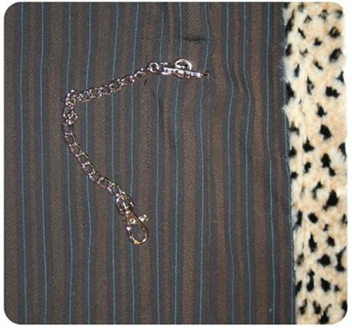 Brown Pinstripe Sling