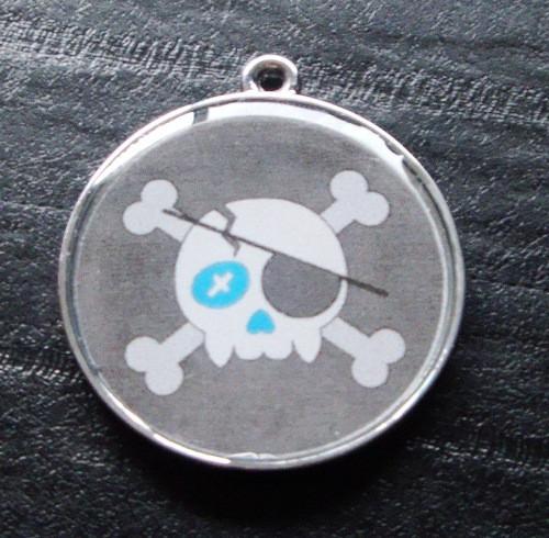 Boy Skulls no.4 Pet ID Tag