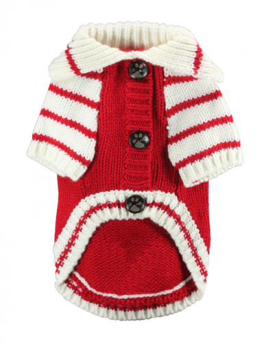 HD Crown Cardigan - Red.