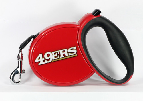 49ers NFL Retractable Pet Leash