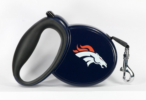 Broncos NFL Retractable Pet Leash
