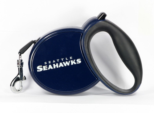 Seahawks NFL Retractable Pet Leash