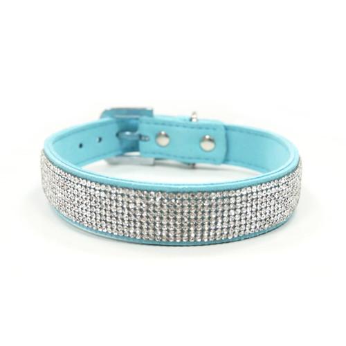 Blue VIP Bling Collar