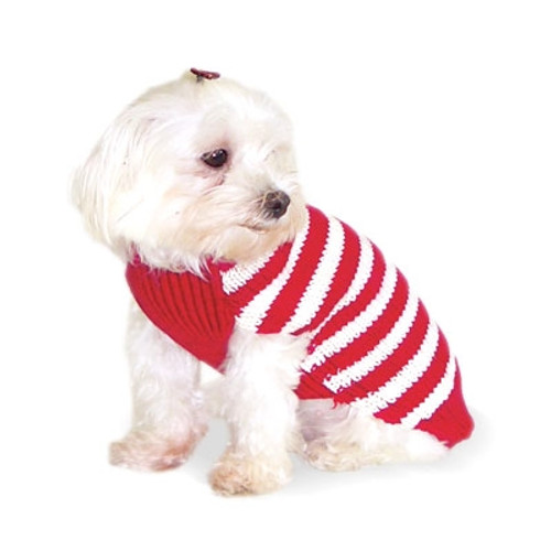 Red Stripy Lover Sweater