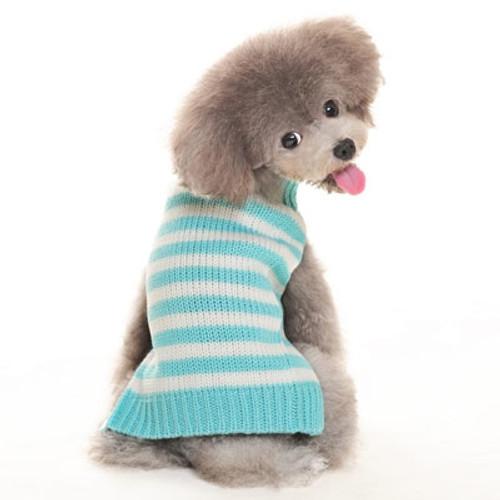 Blue Stripy Lover Sweater