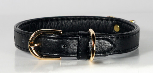 Black Crystal Bow Collar And Lead