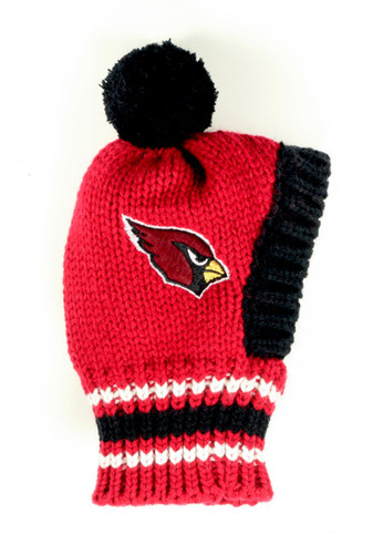 NFL Knit Pet Hat - Cardinals