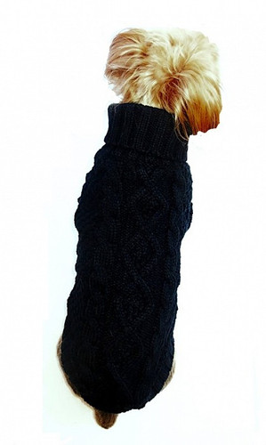 Irish Knit Black