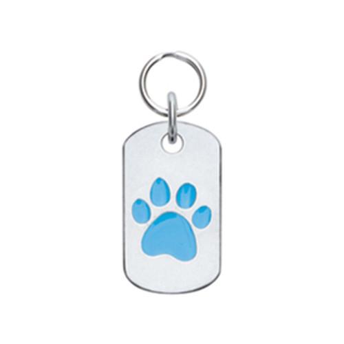 Doggie Tag with Paw