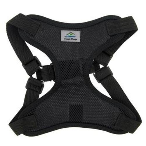 Wrap and Snap Choke Free Dog Harness - Black