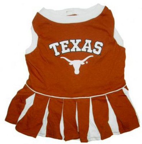 Texas Longhorns - Cheerleader Dog Dress