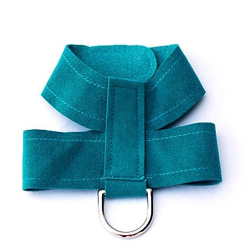 Teal Hollywood Quick Release Ultra Suede Harness