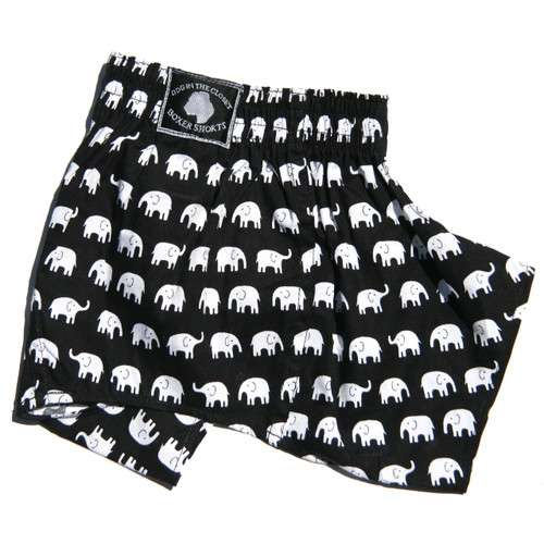 Boxer Shorts for Dogs - Elephant