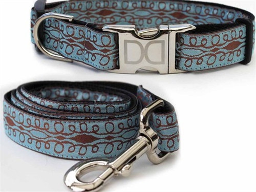 Calligraphy Collection - Blue All Metal Buckles