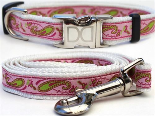 """""""Boho"""" Pastel Paisley Collection - All Metal Buckles"""