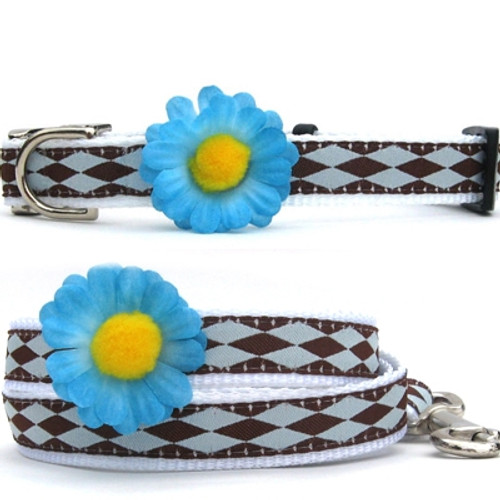 Gerber Daisy Collection - Blue All Metal Buckles