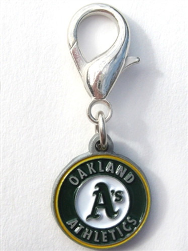 MLB™ Licensed Oakland A's Logo Collar Charm