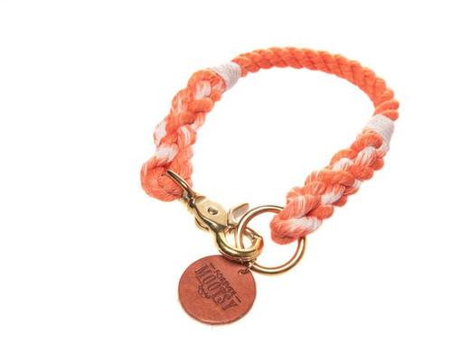 Tangerine Ombré Dog Collar