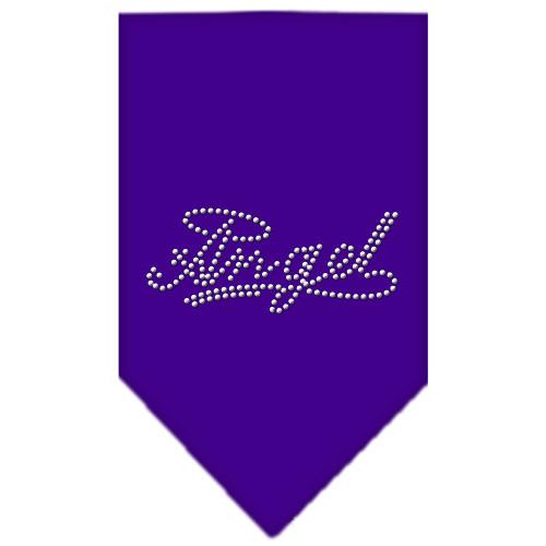 Angel Rhinestone Bandana - Purple