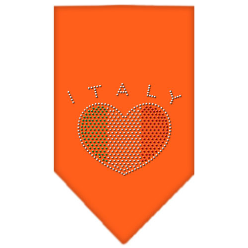 Italy Rhinestone Bandana