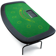 PROFESSIONAL Blackjack TABLE WITH FOLDING LEGS