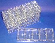 ACRYLIC CHIP RACK - SET OF 10