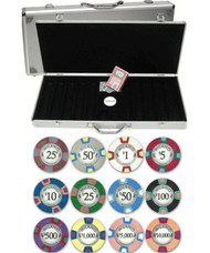 MILANO Claysmith 10gm Premium 500 Chip CLAY Poker Set w/Aluminum Case - Choose Chips!