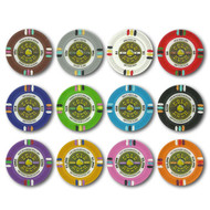 Gold Rush Claysmith 14gm Clay Poker Chip Sample Set - 12 New Chips!