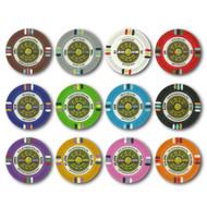 500 Gold Rush Claysmith 14gm Bulk Clay Poker Chips - Choose Chips