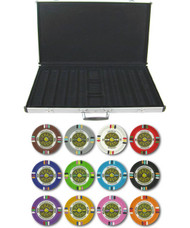 Gold Rush Claysmith 14gm 1000 Chip Clay Poker Set with Aluminum Case - Choose Chips!