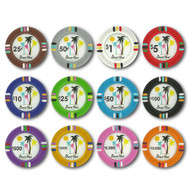 Desert Heat Claysmith 14gm Clay Poker Chips - 12 Chip Sample Set!