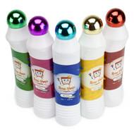 5 Pack of DifferentColor Neon Glitter Bingo Daubers
