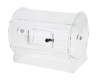 Heavy Duty Acrylic Medium Size Raffle Drum - Fits up to 5000 Tickets!