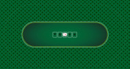Casino Quality Poker Sublimation Cloth Felt Layout - Top Quality!