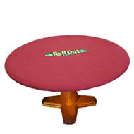 Rollout Gaming Round 50 Inch Neoprene Poker Playing Surface/Table Cover - Reversable Colors!