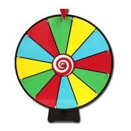 Deluxe 24 Inch Dry Erase Prize Wheel - Choose Type!