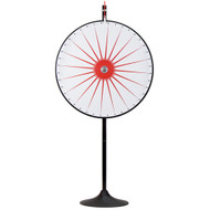 "Deluxe 36"" Custom Dry Erase Prize Wheel with Extendable Base - Choose Type!"