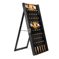 Customizable Drop Zone Plinko Style Game Board - Comes with 10 Pucks!